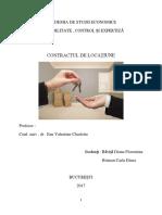 Contractul de Locatiune