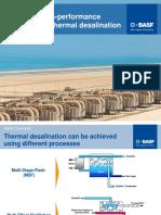 SOKALAN - High-performance Additives for Thermal Desalination