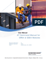 wavecom AT Command Manual for GR64 & GS64 Modules