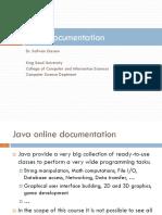 Chap 1.5 - Java Documentation
