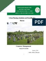 Cemetery Manual