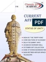 Current Affairs November 2018 - By Classic IAS Academy