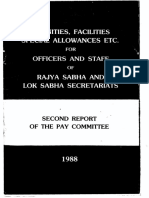 2nd Pay Committee Report 1988
