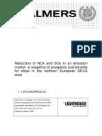 Nox Emissions Control