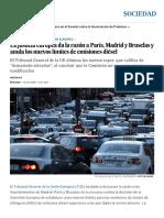 La Justicia Europea Da La Razón a París, Madrid y Bruselas y Anula Los Nuevos Límites de Emisiones Diésel _ Sociedad _ EL PAÍS