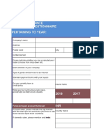 Trade Credit Insurance by Itgi- Proposal Form 2018