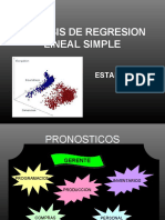 Analisis de Regresion Lineal Simple