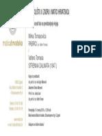 Pozivnica_Predstavljanje Knjiga M. Tomasović Pabirci i v. Tomas Strenna Dalmata