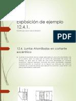 Exposición de Ejemplo 12.4.1