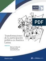 Transformaciones de La Participación política en América Latina - Matias Bianchi