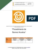 Proc. Barrera Acustica