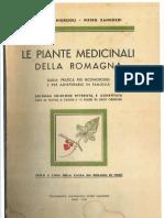 Le Piante Medicinali Della Romagna - Zangheri - Pg 001-100