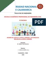 Resumen Del Capitulo 4-Oferta y Demanda-dora Sanchez