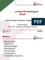 Panorama Atual de Smishing no Brasil (Apresentação)