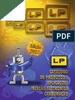 CATÁLOGO - CARBURADOR - INJEÇÃO ELETRÔNICA - PEÇAS - 2007.pdf