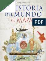Atlas Ilustrado de La Historia Del Mundo en Mapas (Spanish Edition)_nodrm