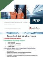 01 Salomonsen Offshore Wind Maintenance Strategies