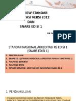 1. Overview Standar Akreditasi Snars Ed1 [Autosaved]