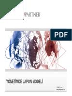 Yönetimde Japon Modeli