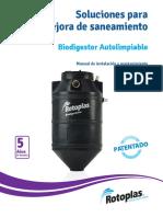 Manual de Biodigestor Rotoplas