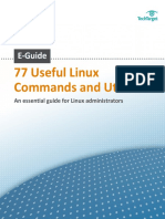 77 Linux commands