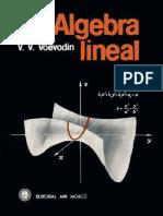 Álgebra Lineal - Voevodin.pdf