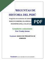 Miscelánea de Historia Del Perú