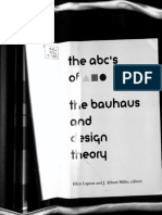 The ABC of Bauhaus and Design Theory