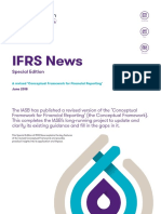 Ifrs News a Revised Conceptual Framework for Financial Reporting