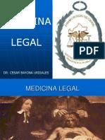 ANTECEDENTES -  MEDICINA LEGAL