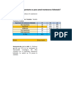 Excel Estadisticas