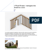 Steel Frame e Wood Frame-Archdaily