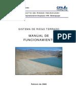1 Manual OM, Sistema Terrado, Chuquisaca-Bolivia
