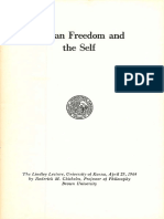 Chrisholm - Human Freedom and the Self-1964.pdf