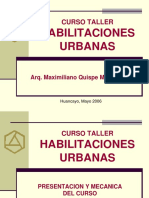 145448449 Habilitaciones Urbanas Ppt