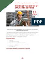 Curso Superior de Tecnologia Em Construção de Edifícios