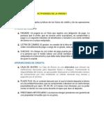 Actividades de La Unidad i y 2 Derecho Mercantil II