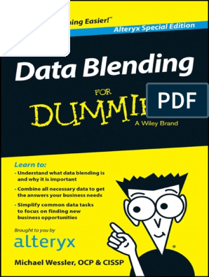 Data-Blending-For-Dummies-by-Wiley-from-Alteryx pdf