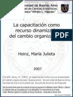 30fa06914 La Capacitacion Un Recuerso Dinamizador Del Cambio Organizacional