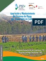 3 OM de Sistemas de Riego por Aspersion en Laderas, PSI-GIZ, Peru.pdf