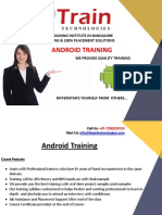 Android Training in Bangalore   Best Android Training in Bangalore, BTM