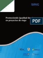 3 OM de Sistemas de Riego Por Aspersion en Laderas, PSI-GIZ, Peru