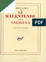 Le Malentendu Caligula