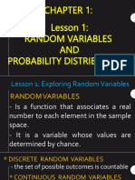 C1 Lesson 1- Exploring Random Variables