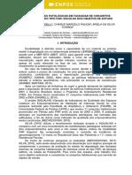MANIFESTAÇÕES PATOLÓTICAS EM FACHADAS DO PAR