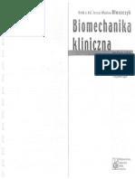 Biomechanika kliniczna- Błaszczyk