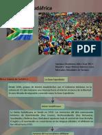 País Sudáfrica Presentación