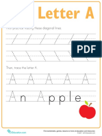 Practice Tracing a Prek