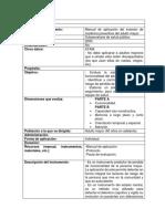 Ficha técnica N°5