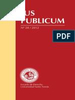 IUS PUBLICUM N° 28 AÑO 2012